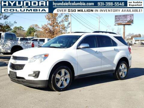 2015 Chevrolet Equinox for sale at Hyundai of Columbia Con Alvaro in Columbia TN