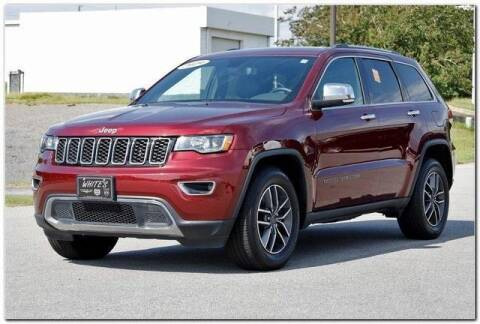 2019 Jeep Grand Cherokee for sale at WHITE MOTORS INC in Roanoke Rapids NC