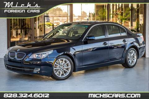 2008 BMW 5 Series for sale at Mich's Foreign Cars in Hickory NC