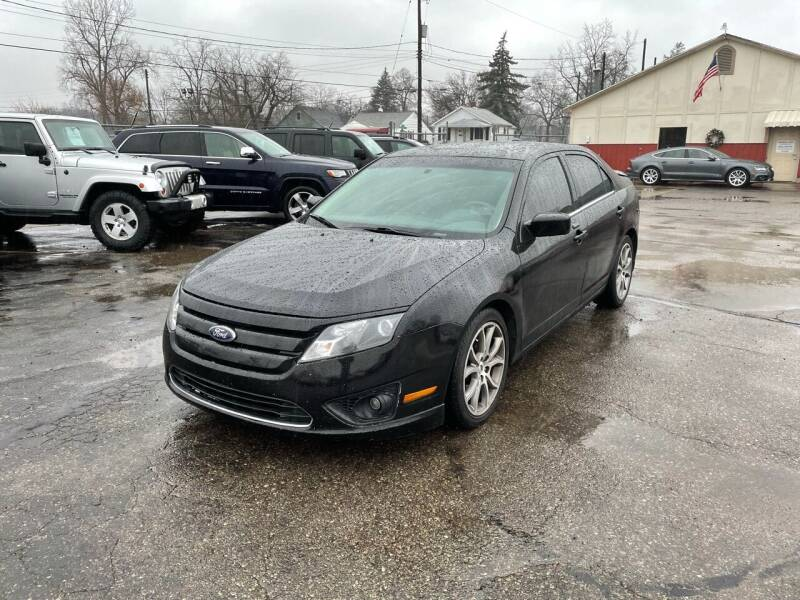 2012 Ford Fusion for sale at Dean's Auto Sales in Flint MI