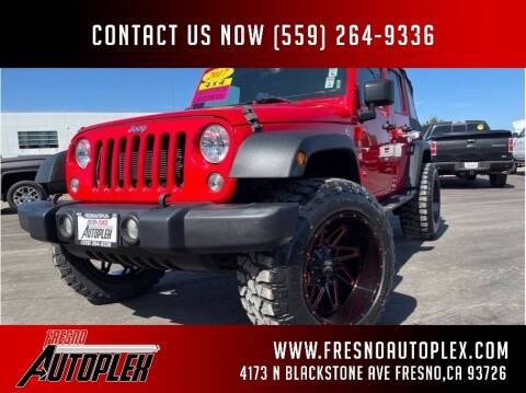 2017 Jeep Wrangler Unlimited for sale at Fresno Autoplex in Fresno CA