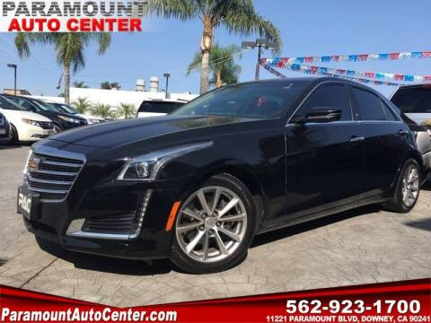 2019 Cadillac CTS for sale at PARAMOUNT AUTO CENTER in Downey CA