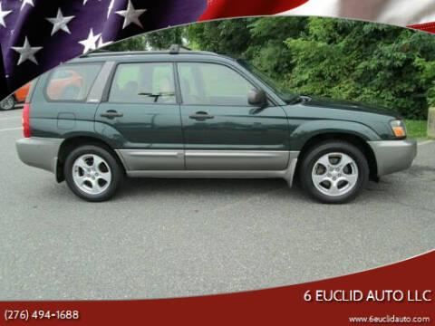 2003 Subaru Forester for sale at 6 Euclid Auto LLC in Bristol VA
