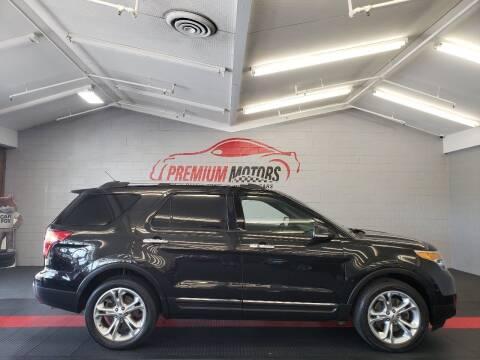 2014 Ford Explorer for sale at Premium Motors in Villa Park IL