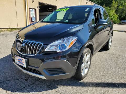 2015 Buick Encore for sale at Auto Wholesalers Of Hooksett in Hooksett NH