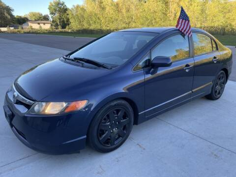2007 Honda Civic for sale at Angies Auto Sales LLC in Newport MN