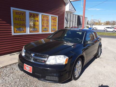 2014 Dodge Avenger for sale at Mack's Autoworld in Toledo OH