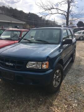 2001 Isuzu Rodeo for sale at Delong Motors in Fredericksburg VA
