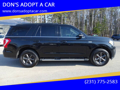 2018 Ford Expedition for sale at DON'S ADOPT A CAR in Cadillac MI