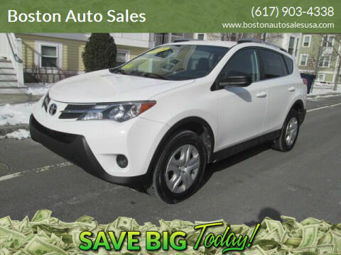2015 Toyota RAV4 for sale at Boston Auto Sales in Brighton MA