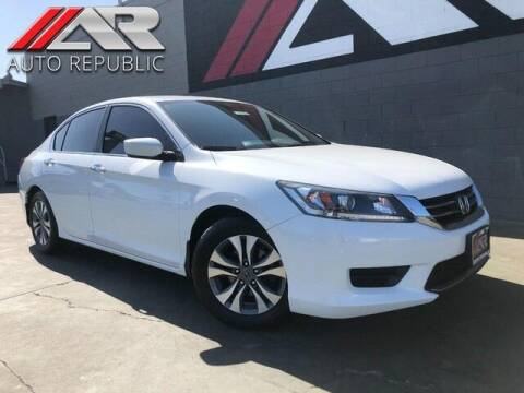 2015 Honda Accord for sale at Auto Republic Fullerton in Fullerton CA