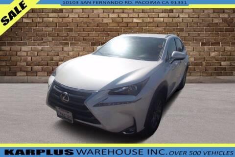 2017 Lexus NX 200t for sale at Karplus Warehouse in Pacoima CA