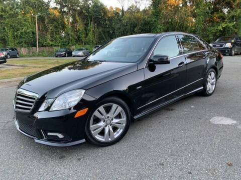 2011 Mercedes-Benz E-Class for sale at Triangle Motors Inc in Raleigh NC