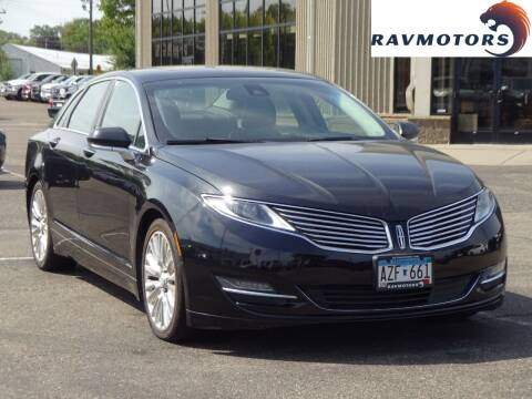 2013 Lincoln MKZ for sale at RAVMOTORS 2 in Crystal MN