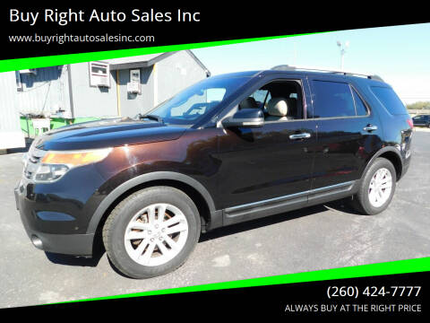 2013 Ford Explorer for sale at Buy Right Auto Sales Inc in Fort Wayne IN