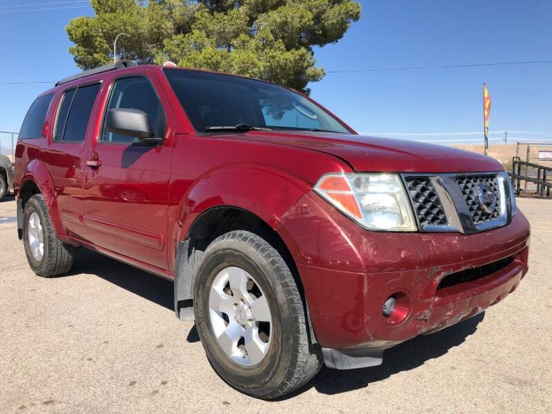 2006 Nissan Pathfinder for sale at Eastside Auto Sales in El Paso TX
