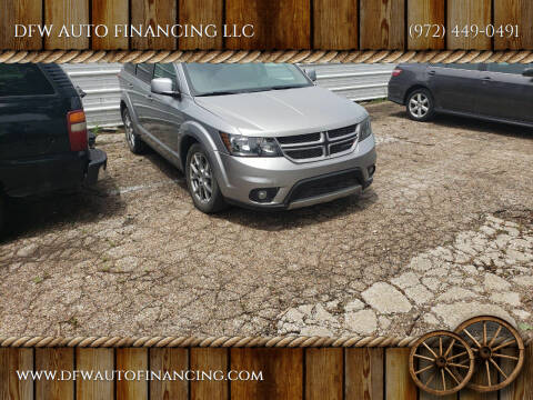 2015 Dodge Journey for sale at DFW AUTO FINANCING LLC in Dallas TX