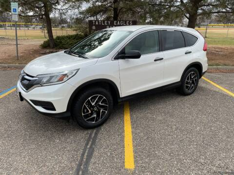 2016 Honda CR-V for sale at BISMAN AUTOWORX INC in Bismarck ND
