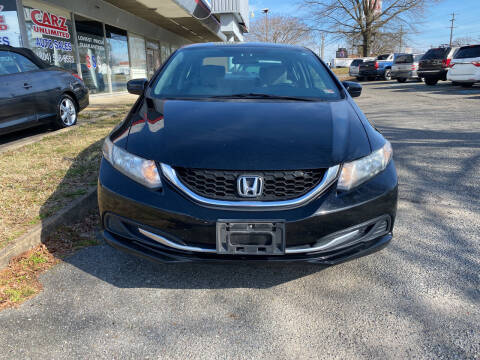 2014 Honda Civic for sale at Carz Unlimited in Richmond VA