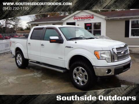2011 Ford F-150 for sale at Southside Outdoors in Turbeville SC