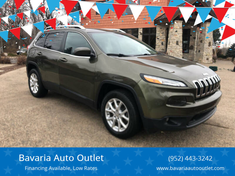 2014 Jeep Cherokee for sale at Bavaria Auto Outlet in Victoria MN