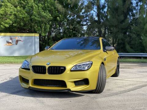2016 BMW M6 for sale at Exclusive Impex Inc in Davie FL