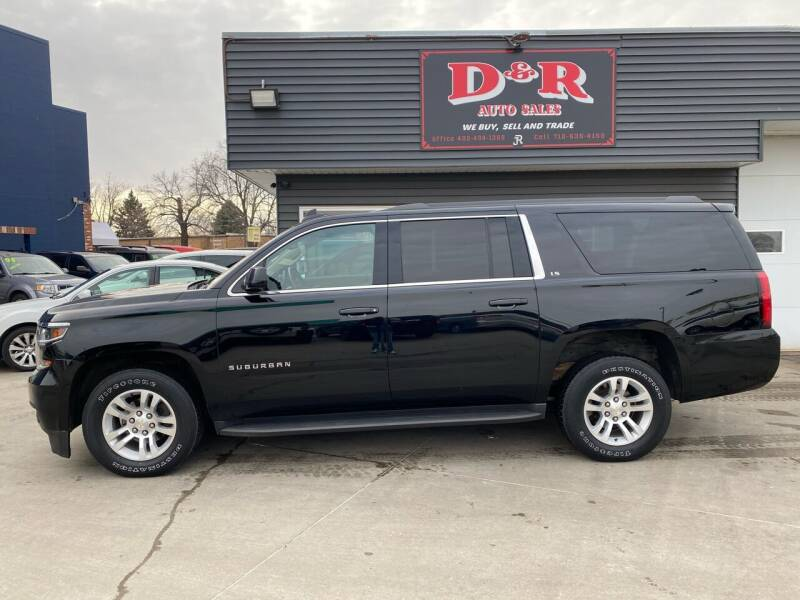 2016 Chevrolet Suburban for sale at D & R Auto Sales in South Sioux City NE