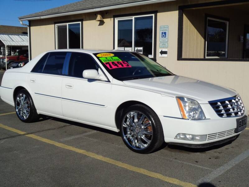 2008 Cadillac DTS for sale at BBL Auto Sales in Yakima WA