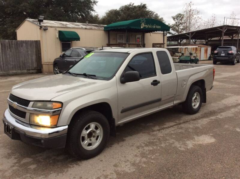 2008 Chevrolet Colorado for sale at OASIS PARK & SELL in Spring TX