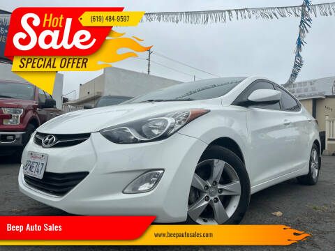 2013 Hyundai Elantra for sale at Beep Auto Sales in National City CA