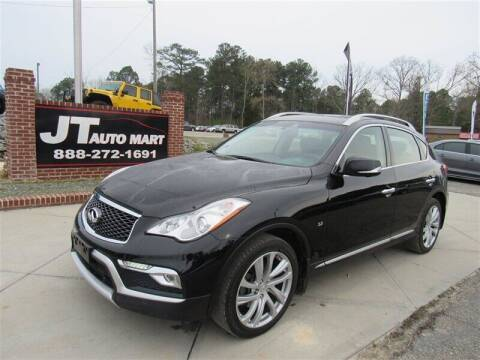 2017 Infiniti QX50 for sale at J T Auto Group in Sanford NC