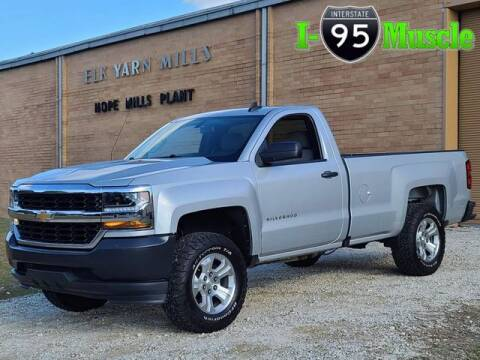 2017 Chevrolet Silverado 1500 for sale at I-95 Muscle in Hope Mills NC