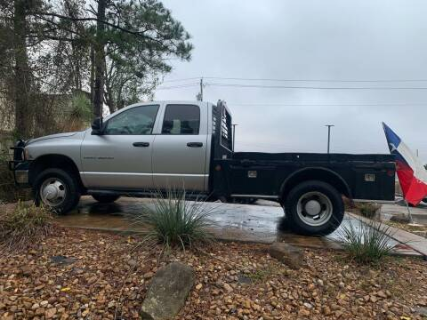 2005 Dodge Ram Pickup 3500 for sale at Texas Truck Sales in Dickinson TX