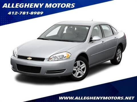 2006 Chevrolet Impala for sale at Allegheny Motors in Pittsburgh PA