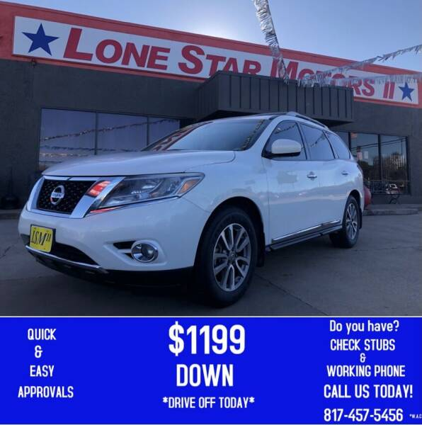 2014 Nissan Pathfinder for sale at LONE STAR MOTORS II in Fort Worth TX
