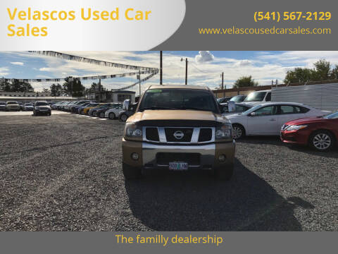 2004 Nissan Titan for sale at Velascos Used Car Sales in Hermiston OR