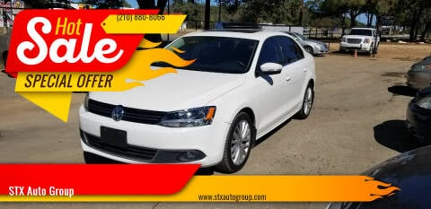 2012 Volkswagen Jetta for sale at STX Auto Group in San Antonio TX