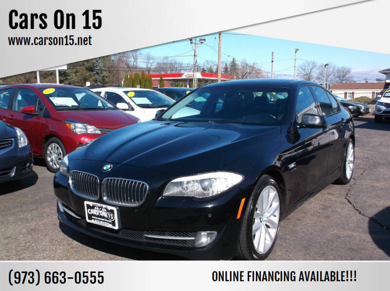 2011 BMW 5 Series for sale at Cars On 15 in Lake Hopatcong NJ