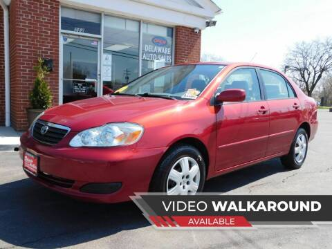 2006 Toyota Corolla for sale at Delaware Auto Sales in Delaware OH