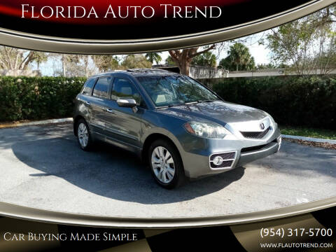 2010 Acura RDX for sale at Florida Auto Trend in Plantation FL