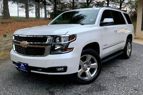 2016 Chevrolet Tahoe for sale at TRUST AUTO in Sykesville MD