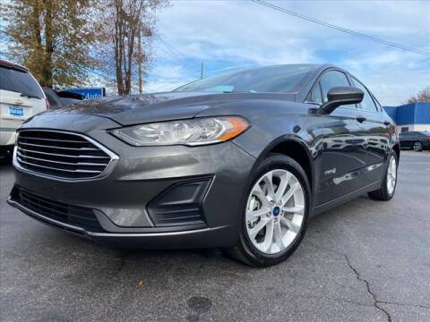 2019 Ford Fusion Hybrid for sale at iDeal Auto in Raleigh NC