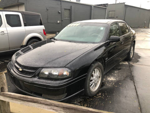 2004 Chevrolet Impala for sale at D and D All American Financing in Warren MI