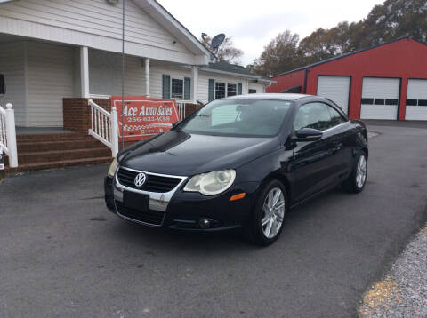 2009 Volkswagen Eos for sale at Ace Auto Sales - $1500 DOWN PAYMENTS in Fyffe AL