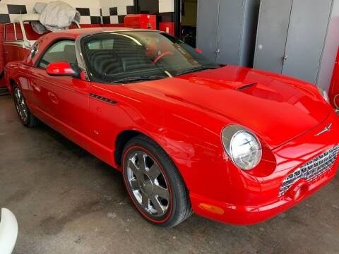 2003 Ford Thunderbird for sale at Auto Sports in Hickory NC