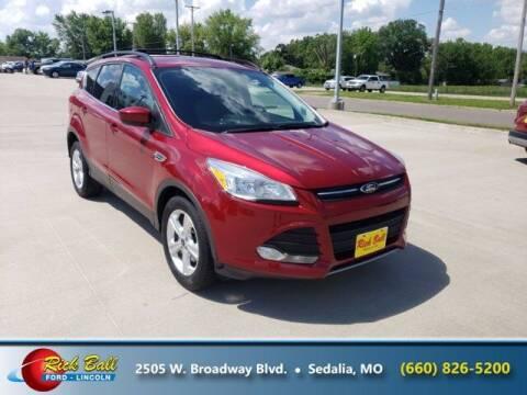 2014 Ford Escape for sale at RICK BALL FORD in Sedalia MO