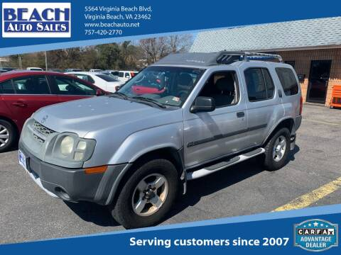 2004 Nissan Xterra for sale at Beach Auto Sales in Virginia Beach VA