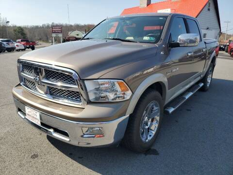 2009 Dodge Ram Pickup 1500 for sale at Mulligan's Auto Exchange LLC in Paxinos PA