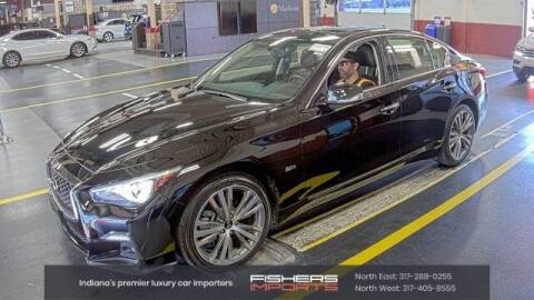 2020 Infiniti Q50 for sale at Fishers Imports in Fishers IN