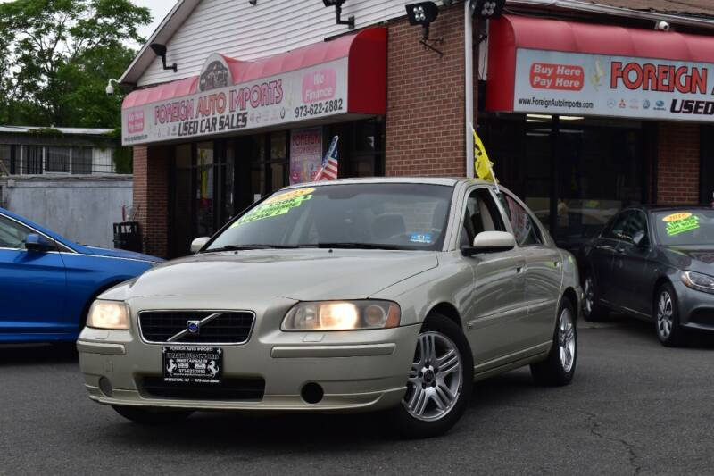 2005 Volvo S60 for sale at Foreign Auto Imports in Irvington NJ